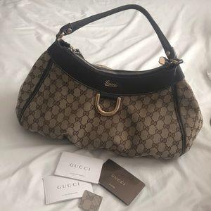 Gucci Leather Handbag | Color: Tan/Brown
